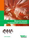 Motors for hermetic & semi-hermetic compressors