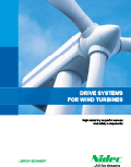 Folleto : Drive systems for Wind turbines