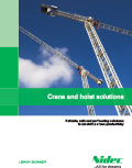 Brochure : Tunnel & Crane and hoist solutions