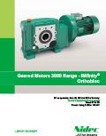 Geared Motors 3000 Range - IMfinity® Orthobloc