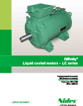 Liquid cooled motors - LC series